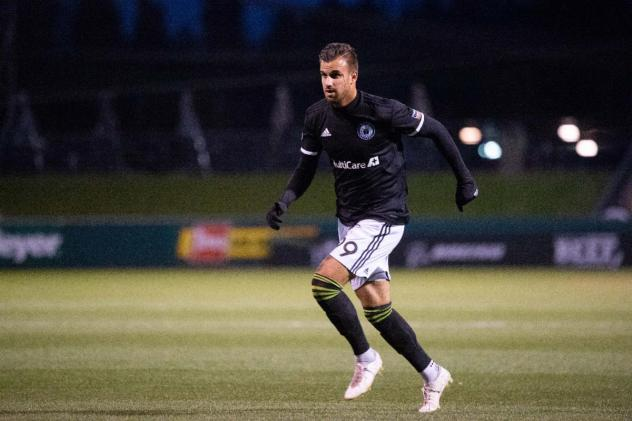 Justin Dhillon scored the lone goal for Tacoma Defiance against San Diego Loyal SC