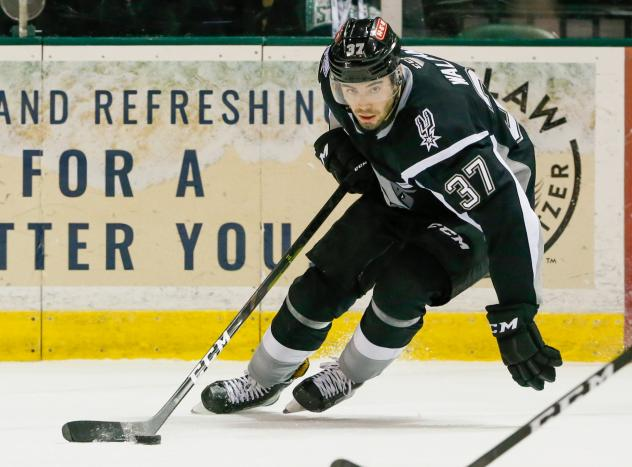 San Antonio Rampage defenseman Jake Walman