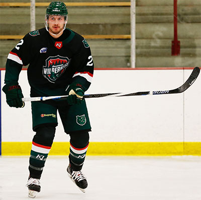 Wilderness Defenseman defenseman Blake Holmes