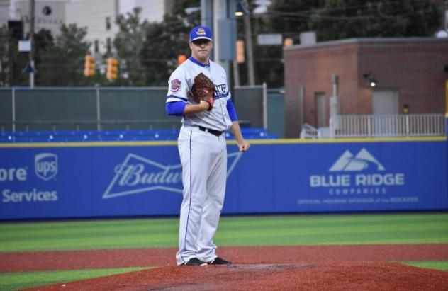 High Point Rockers pitcher Brian Clark