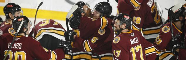 Chicago Wolves celebration