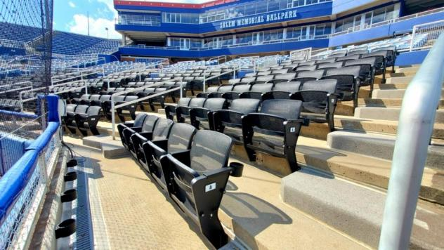 Salem Red Sox new premium seating