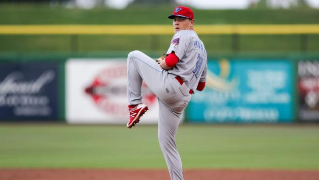 Clearwater Threshers pitcher Spencer Howard
