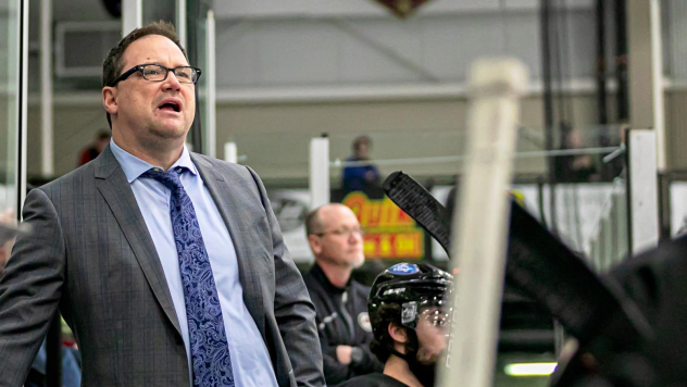 Sioux Falls Stampede head coach Marty Murray
