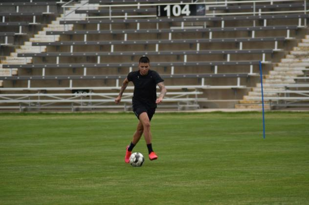 Colorado Springs Switchbacks FC in training