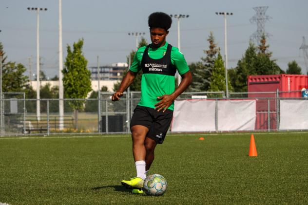 York9 FC's Isaiah Johnston