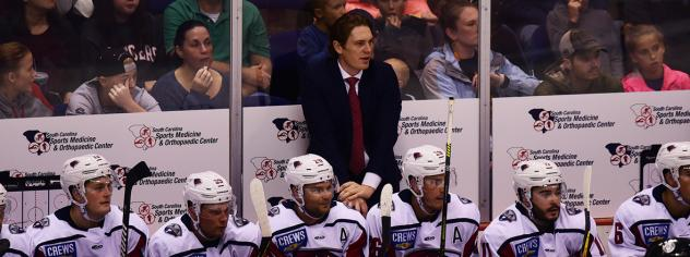 South Carolina Stingrays head coach and director of hockey operations Steve Bergin