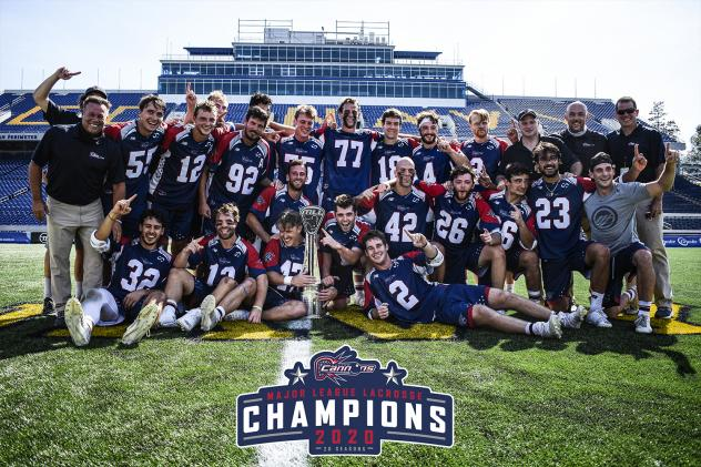2020 MLL Champion Boston Cannons