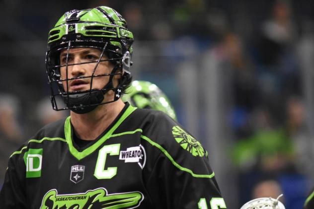 Saskatchewan Rush captain Chris Corbeil