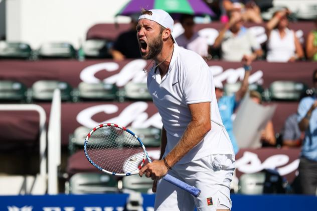 Jack Sock of the New York Empire