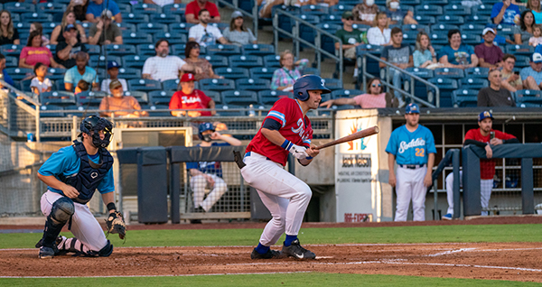 Aidan Nagle was one of four hitters with two hits for the Tulsa Drillers Tuesday