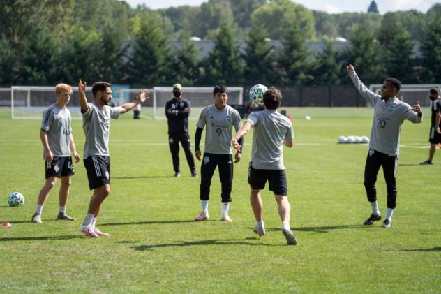 Seattle Sounders FC resumed training this week at Starfire Sports
