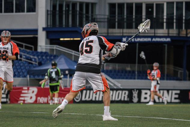 Denver Outlaws attackman Ryan Lee