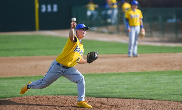 Sioux Falls Canaries pitcher Alex Boshers
