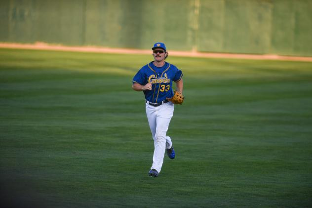 Clint Coulter of the Sioux Falls Canaries