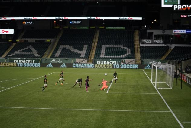 Seattle Sounders FC Peruvian forward Raul Ruidiaz bagged his third and fourth strikes of 2020