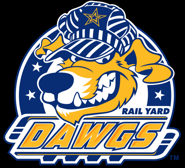 Roanoke Rail Yard Dawgs primary logo