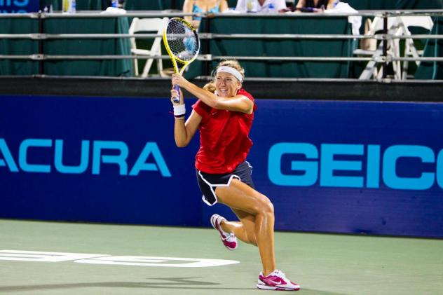 Victoria Azarenka with the Washington Kastles