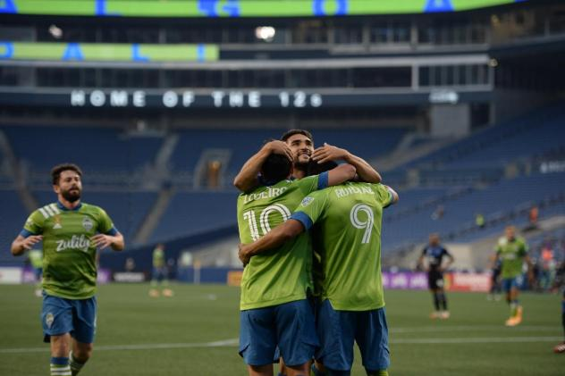 Seattle Sounders FC recorded a stunning seven-goal performance against the San Jose Earthquakes