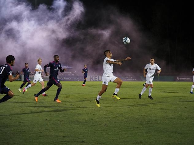 Union Omaha and South Georgia Tormenta FC in action
