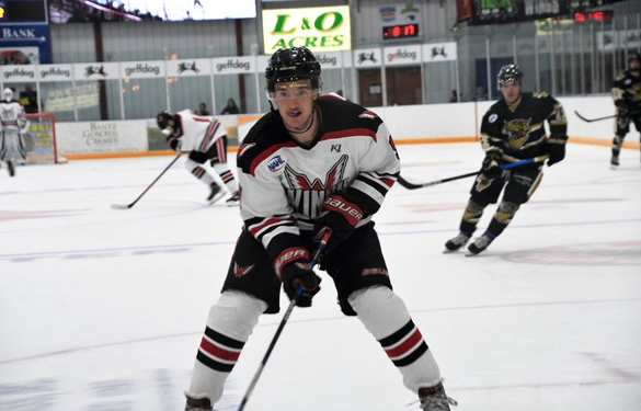 Aberdeen Wings vs. the Bismarck Bobcats in exhibition play