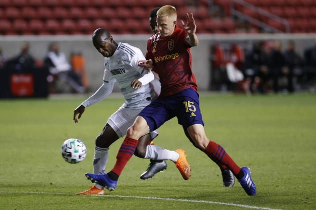 Real Salt Lake in action