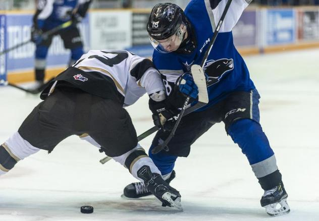 Saint John Sea Dogs 2020 face off with the Charlottetown Islanders