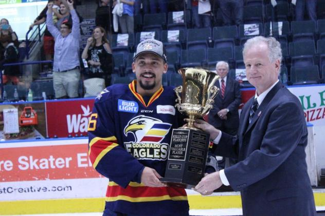 Forward Sign Michael Joly with the Colorado Eagles