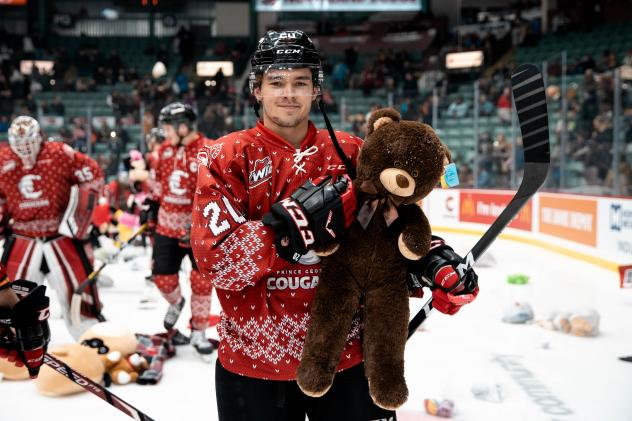 Prince George Cougars Teddy & Toque Toss