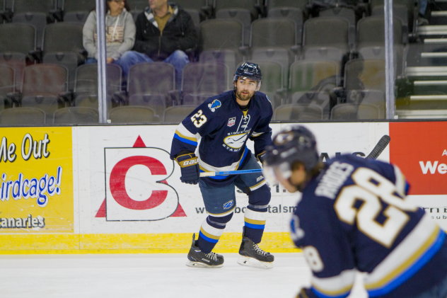 Jay Bucholz of the Sioux Falls Stampede