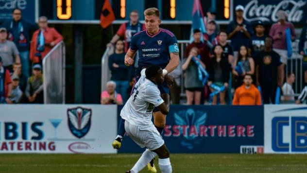 South Georgia Tormenta FC center back Lars Eckenrode