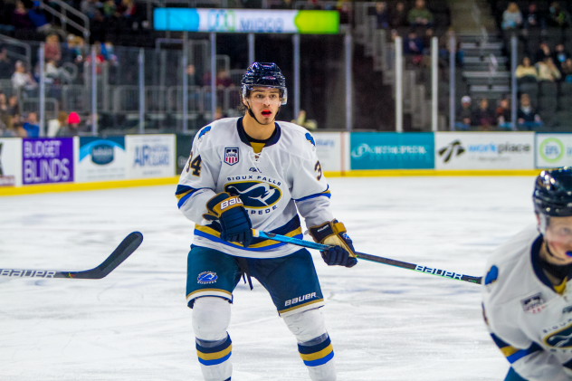 Sioux Falls Stampede forward Cole Sillinger