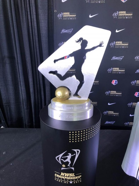 NWSL Championship Trophy