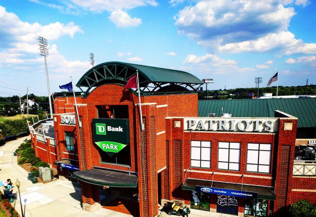 TD Bank Ballpark, home of the Somerset Patriots