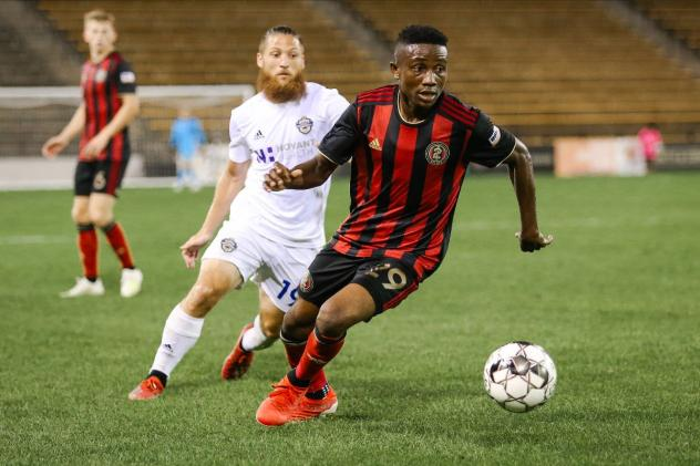 Bienvenue Kanakimana with Atlanta United 2