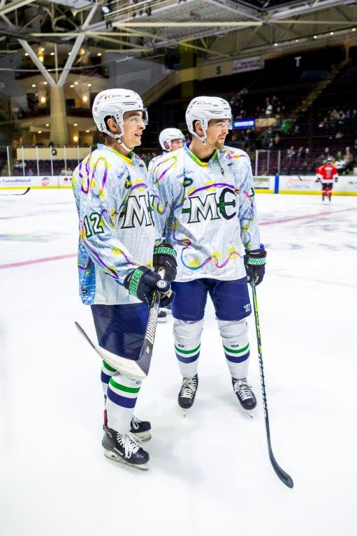 Ted and Brian Hart of the Maine Mariners