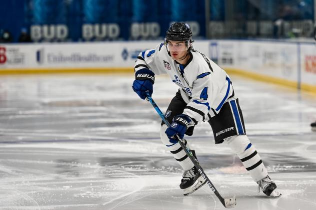 Defenseman Jack Peart with the Fargo Force