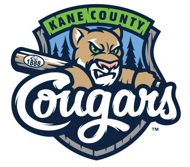 Kane County Cougars new primary logo