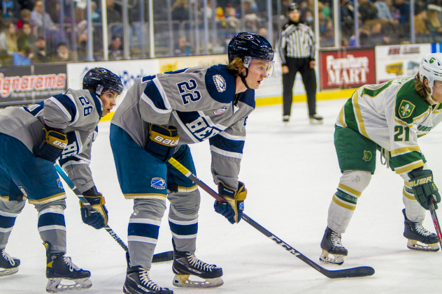 Cal Thomas of the Sioux Falls Stampede