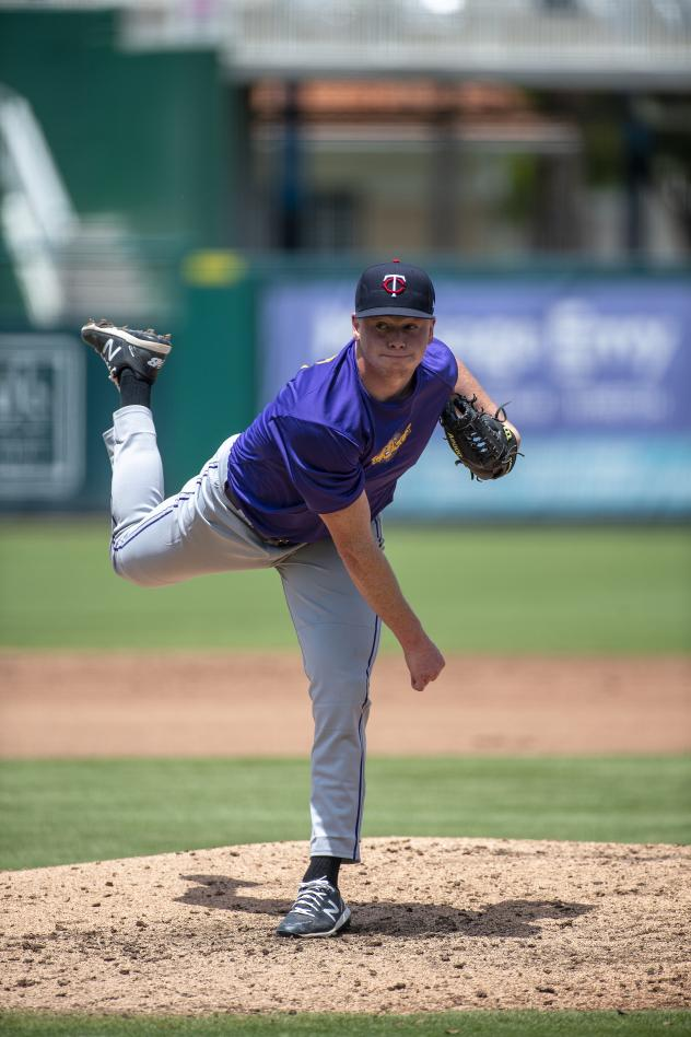 Fort Myers Mighty Mussels pitcher Louie Varland