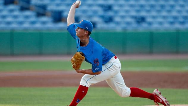 Clearwater Threshers pitcher Mick Abel