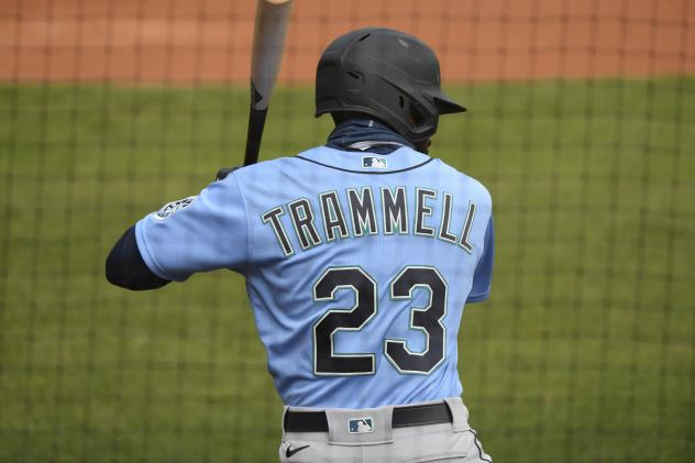 Taylor Trammell of the Tacoma Rainiers