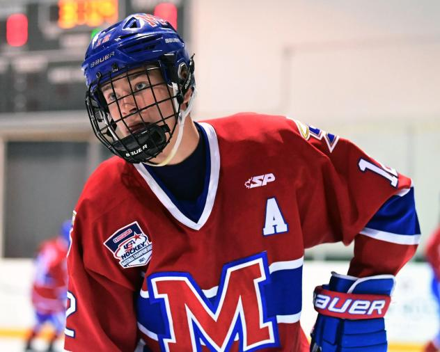 Tanner Adams to Tender Agreement with Mount St. Charles Academy's 15U team