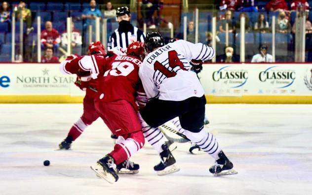 Chad Butcher of the Allen Americans