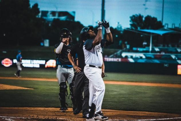 Curt Smith of the Lincoln Saltdogs