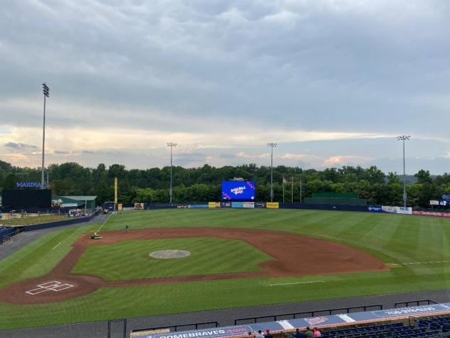 State Mutual Stadium, home of the Rome Braves