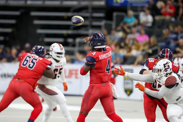 Sioux Falls Storm quarterback Tommy Armstrong