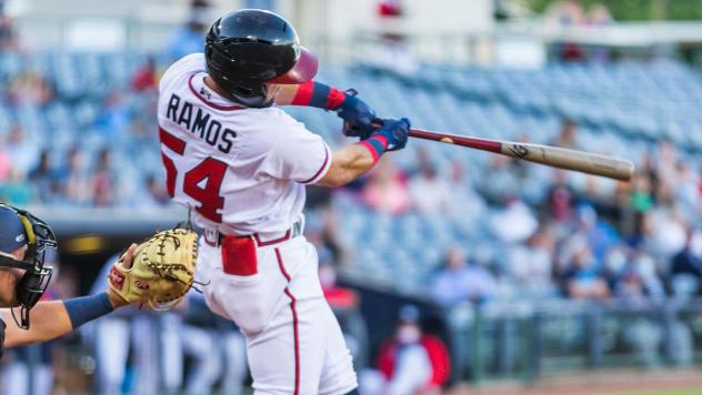 Jefrey Ramos of the Mississippi Braves