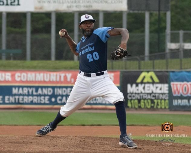 Southern Maryland Blue Crabs player-coach Daryl Thompson