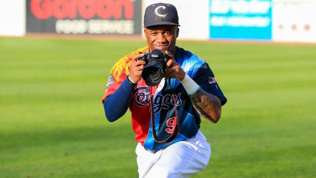Kane County Cougars outfielder Anfernee Seymour